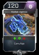 Blitz - UNSC - Capitán Cutter - Unidad - Kodiak sigiloso