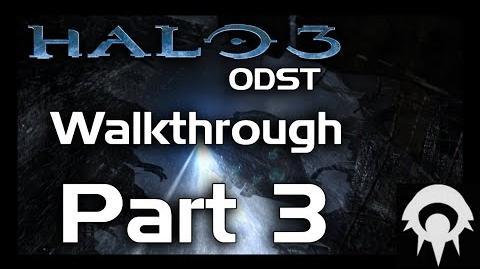 Halo 3 ODST Walkthrough - Part 3 - Kizingo Boulevard - No Commentary