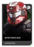 H5G REQ card Enforcer-Casque