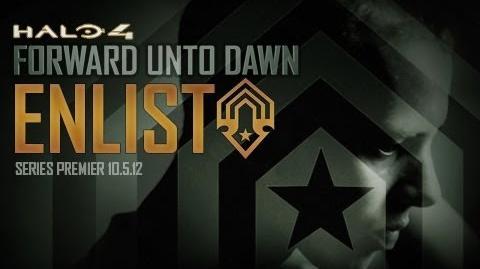 Halo 4: Forward Unto Dawn: Enlist
