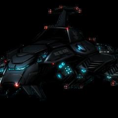 Ein Prowler, einer von vielen dieser Schiffe bilden die Aufklärungseinheit des UNSC Navy.
