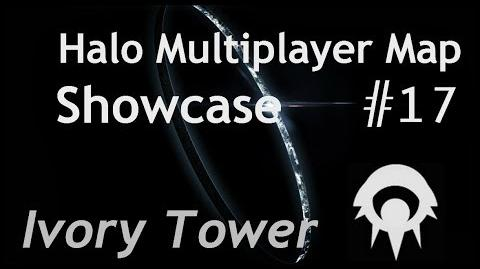 Halo Multiplayer Maps - Halo 2 Ivory Tower