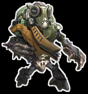 Grunt Cannoniere in Halo Reach