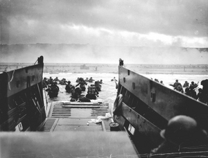 American landing at Omaha Beach