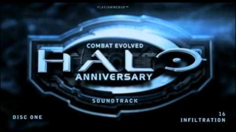 Halo Anniversary Soundtrack - Disc One - 16 - Infiltration