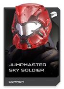 H5G REQ card Casque-Jumpmaster Sky Soldier