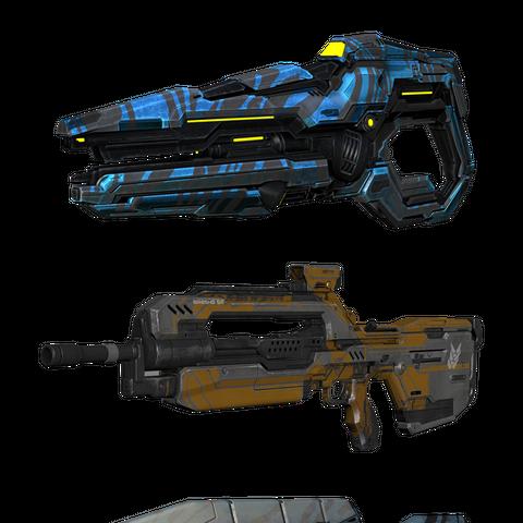 Beispiele für Waffenskins