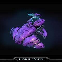 Un Wraith in Halo Wars