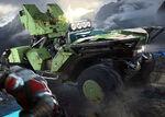 HW2 Blitz-Artwork ArmoredWarthog