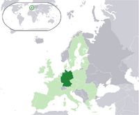 Location of Germany