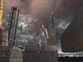 Estatua Jefe Maestro 02