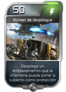 Blitz - UNSC - Sargento Johnson - Poder - Bunker de despliegue