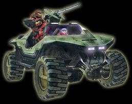 Halo-warthog