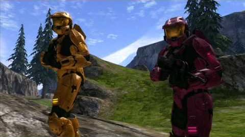 Red vs. Blue Valentine's Day PSA You Had Me at Halo