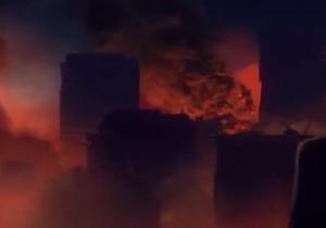 Philadelphia burns
