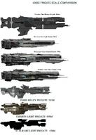 Frigates Comparison Chart NEW