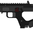 M8 submachine gun