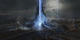 Halo 4 gravity well artwork josh holmes-1920x980