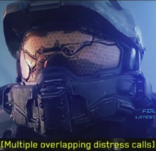 Multiple Overlapping Distress Calls