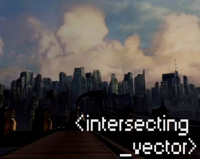 Intersecting vector