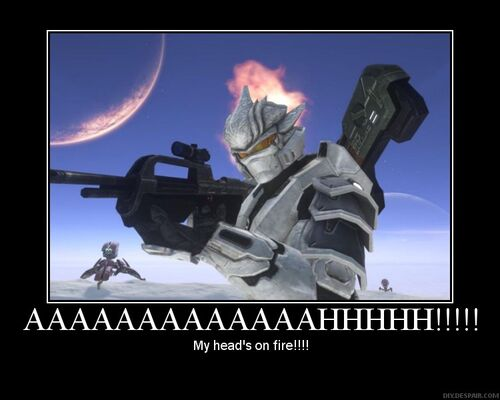 Halo funny motivational poster