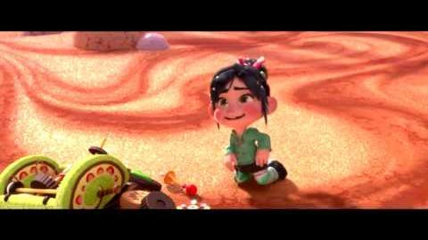Wreck-It Ralph - Vanellope - You're mimicking me! Hero's Duty Joke