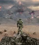 Halo Wars The Great War Artwork