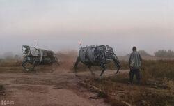 DT Wealthian Saddle Drones