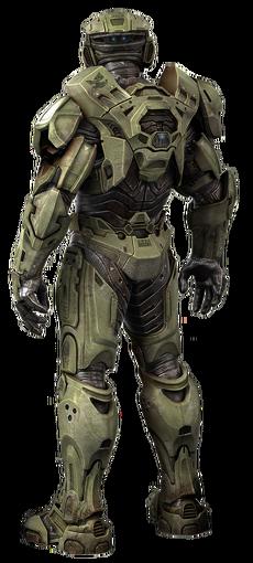 Halo Character Spartan Render Samdoo