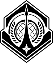 UNSC Navy Logo Black