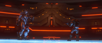 Didact versus Master Chief