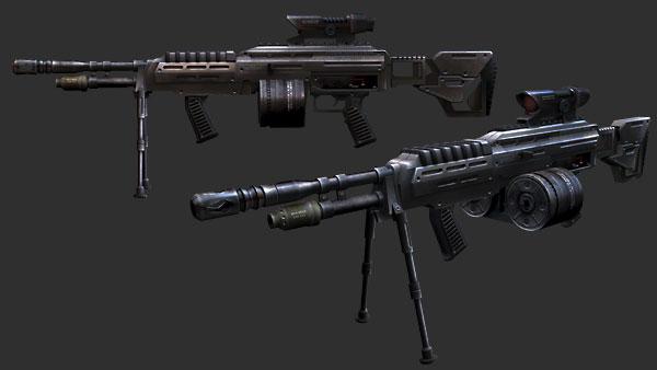 Gaust Light Machine Gun Model-119 | Halo Fanon | FANDOM powered by Wikia