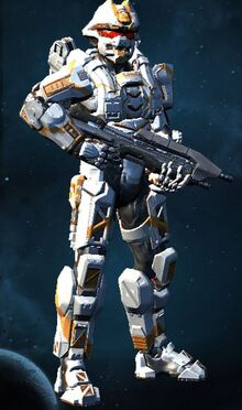 Armored Halo John Lexingtion Capture