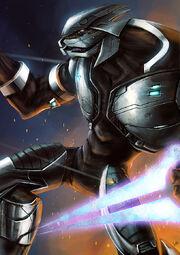Tal swordsman