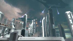 Reach New Alexandria Under Seige