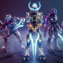 Xytan's elite team of sanghilli