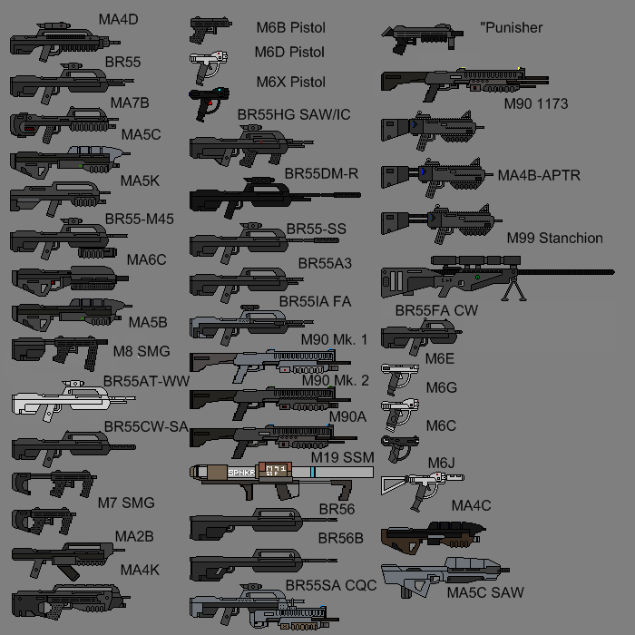 Image Weapon List Png Halo Fanon Fandom Powered By Wikia