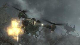 UH-144 Falcon (M638 autocannon firing)