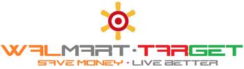 Walmart-Target Logo