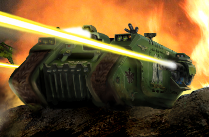 W40K Land Raider by Glaedr7-1-