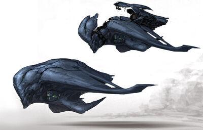 Alien Fighter Design