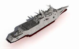 Naval Destroyer (1)