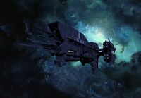 Unsc lewis and clark flyby by calamitysi-d5wklnl