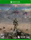 Halo Wars - The Great War Xbox One game cover RP