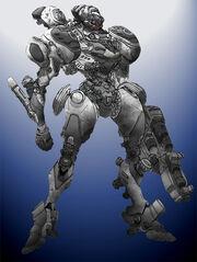 War Machine by Cosmic D
