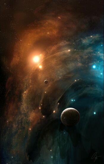 Just Space by JoeJesus