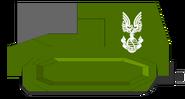 Armoured sled