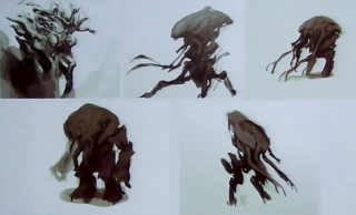 Dismantled Figures Promeathean Concept Art