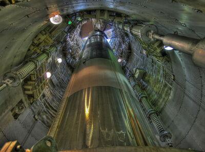 Titan II missile in silo (7155006607)