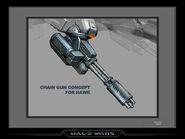 UNSC Hawk Chaingun